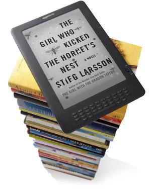 Grande destaque do Kindle continua sendo a quantidade de livros