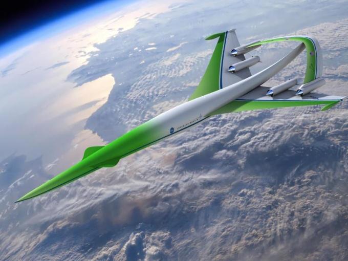 Supersonic Green Machine.