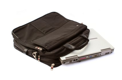 Cuidado para transportar o notebook
