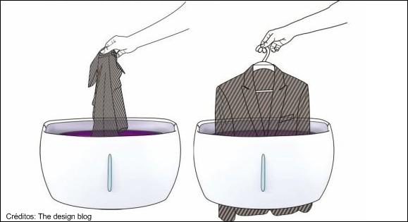 Lava-roupa compacta e rápida!