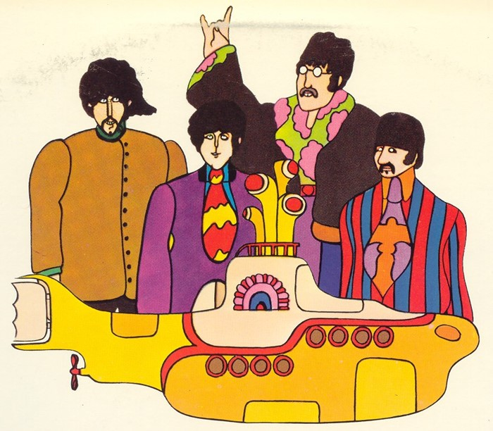 Yellow Submarine, clássico dos Beatles