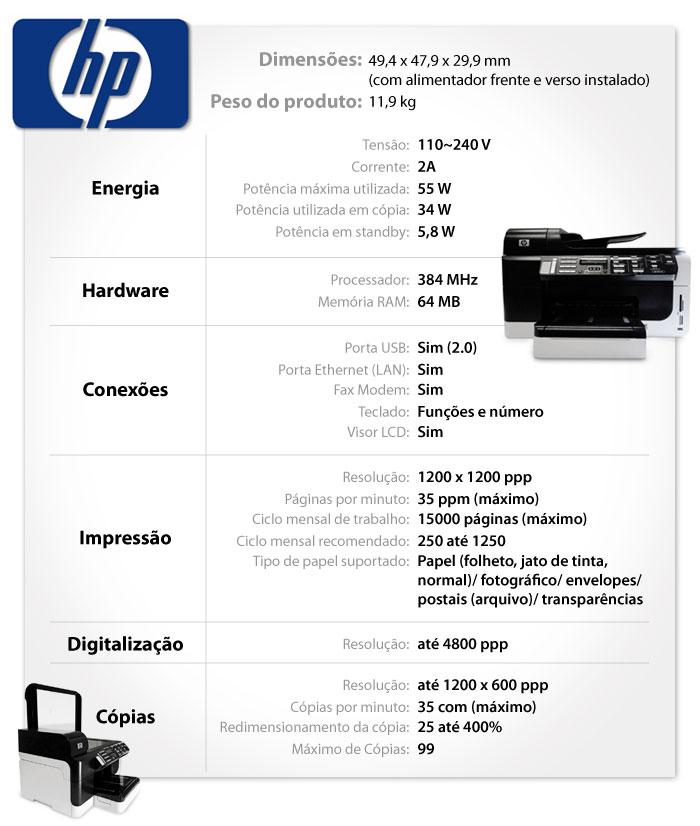 Configurações da impressora