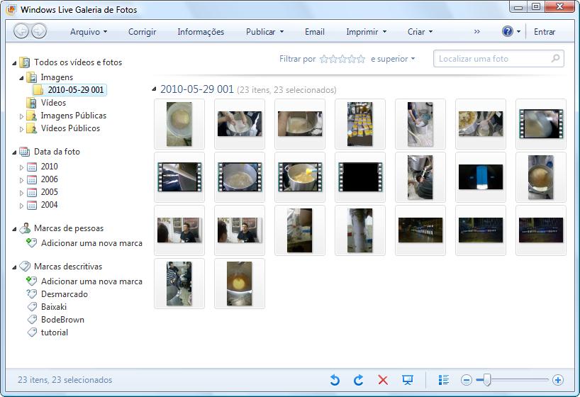 Windows Live Galeria de Fotos