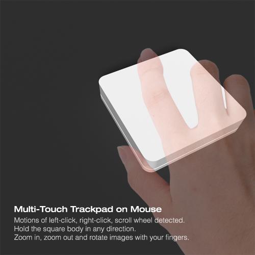 Mac Funamizu - o mouse quadrado e multitouch do Horizon