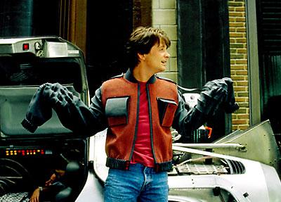 Jaqueta autolimpante de McFly
