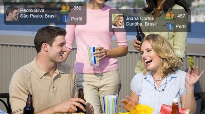 As redes sociais mais desenvolvidas.