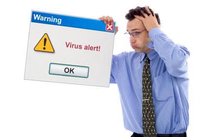 Fique atento com os alertas do seu navegador.