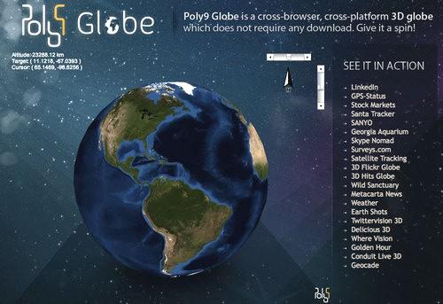 Poly9 Globe.