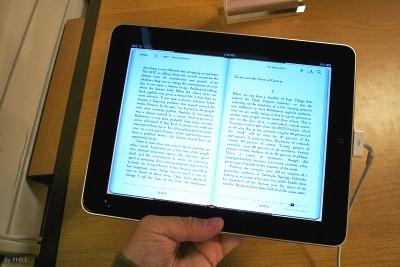 Novos iPads serão dedicados a leitura.