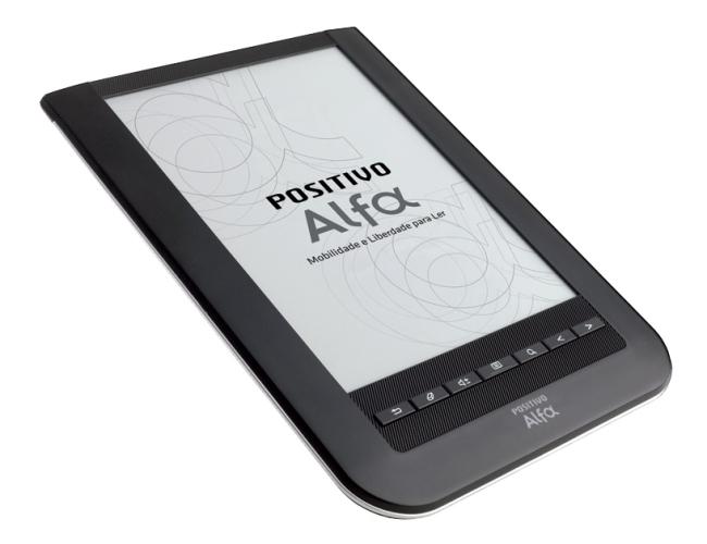 Positivo Alfa para quem adora ler livros digitais