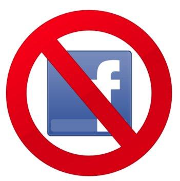 Não ao Facebook!