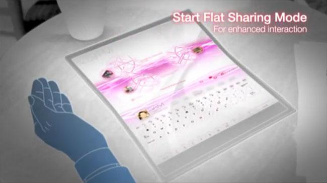 Transforma-se em tablet
