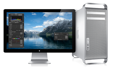 Mac Pro + LED Cinema Display é poder em dobro!