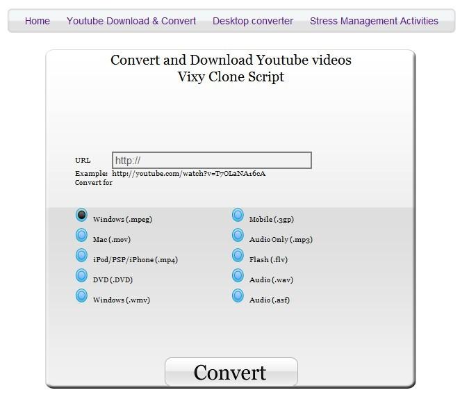 Converta os arquivos de áudio e vídeo