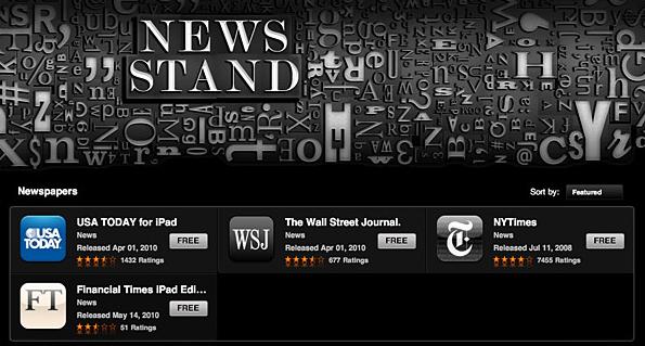 Fácil acesso aos apps de notícia e rádio.