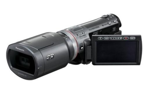 Panasonic na frente com a primeira filmadora 3D doméstica! 16768