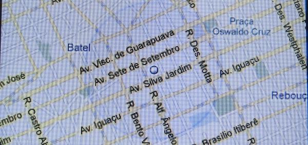 Google Maps com precisão de 700 metros no Motocubo