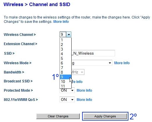 Como melhorar o sinal da rede sem fio mudando o canal Wi-Fi do roteador 40634