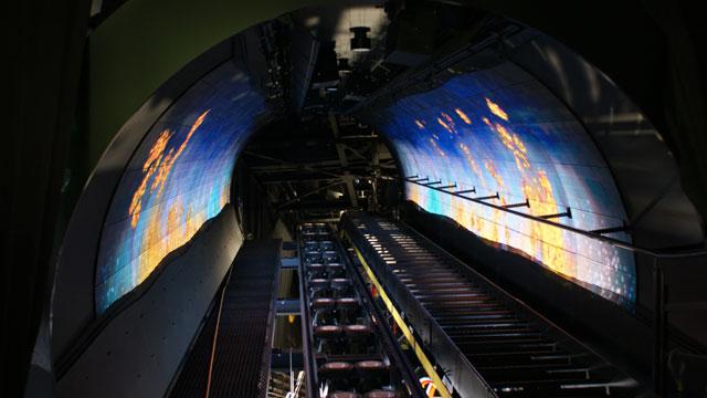 A Space Fantasy permite interação 3D