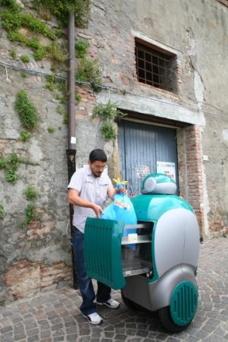 Robô DustCart.