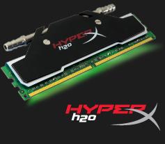 HyperX H2O, a nova linha de memórias RAM da Kingston.