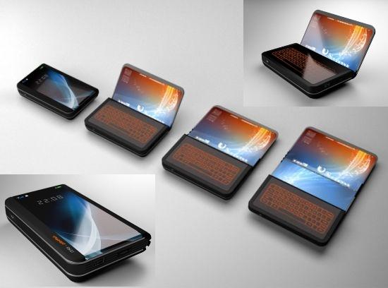 O Flex Display Phone e suas faces.