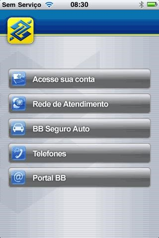 Aplicativo do Banco do Brasil para iPhone