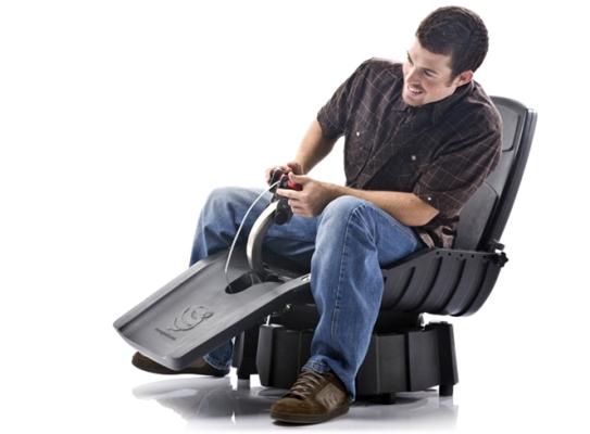 A cadeira é fantástica e um sonho para qualquer jogador.