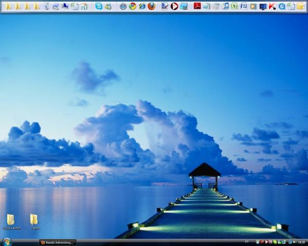 Que tal o Desktop com este dock?