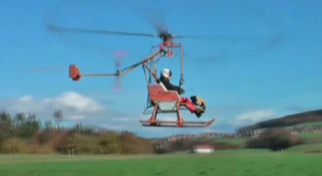 Dragonfly, o helicóptero ecologicamente correto!