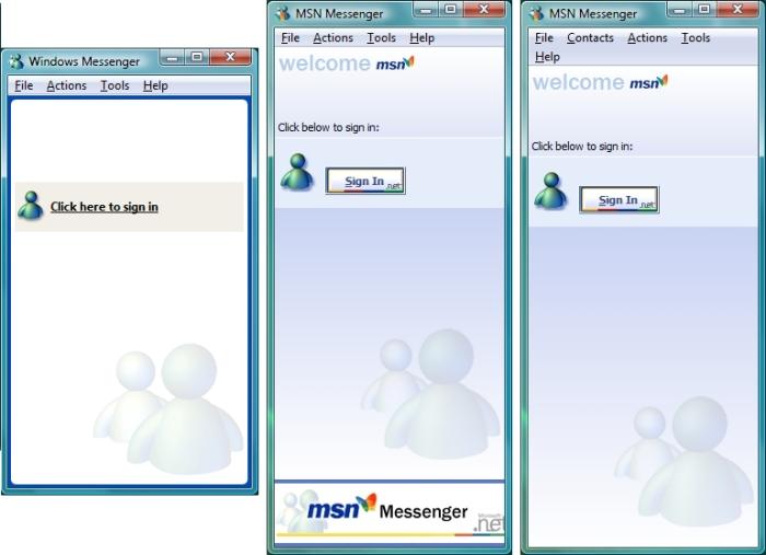 Messenger 4, 5 e 6