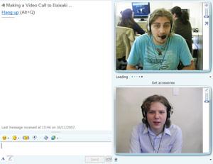 Messenger 8.5 com videoconferência
