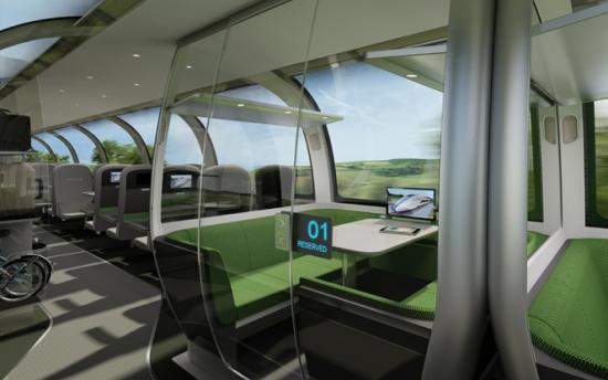 As cabines exclusivas oferecem privacidade e conforto.
