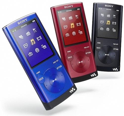 As cores dos novos Walkmans da série E350