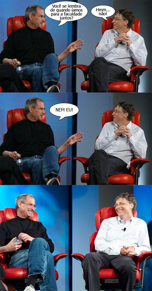 Jobs e Gates