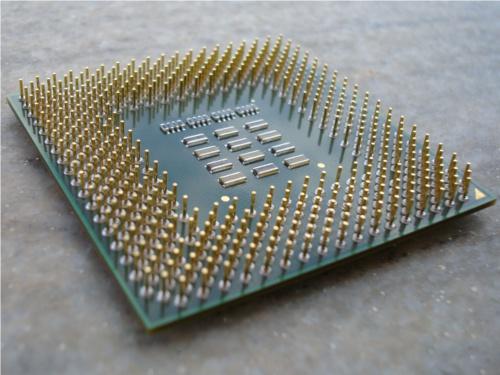 Processadores cada vez menores, este é o futuro. Fonte: Wikimedia Commons