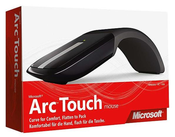 Caixa do Arc Touch Mouse.