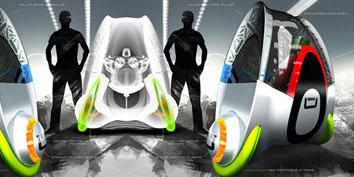 d96b2786e77 Novo conceito em transporte pessoal urbano é oval