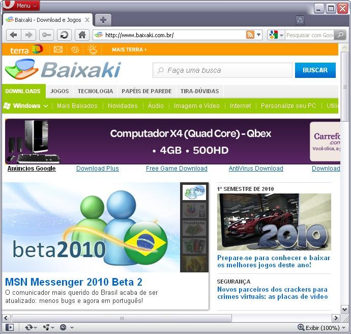 MSN ACTIVEX PARA JOGAR BAIXAR NO