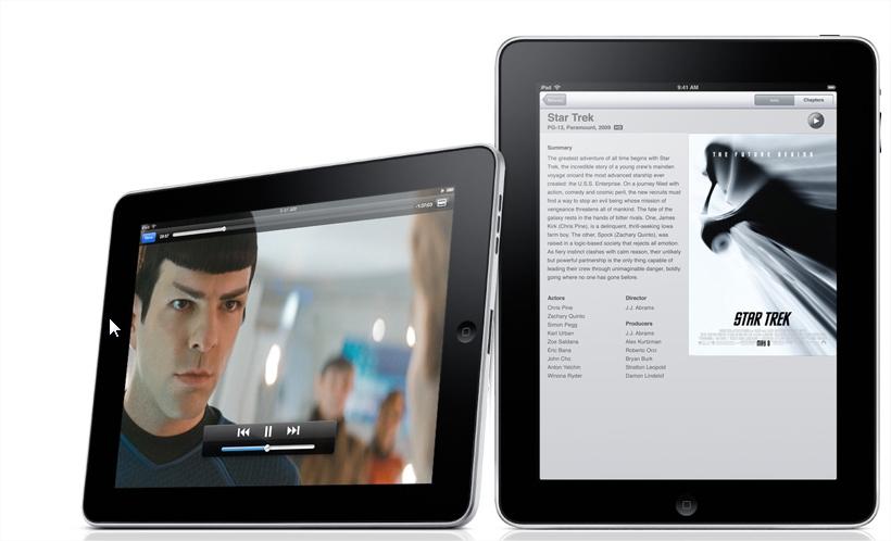 iPad ainda usa tela Full screen.