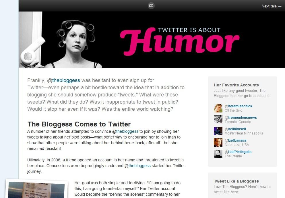 Histórias do Twitter