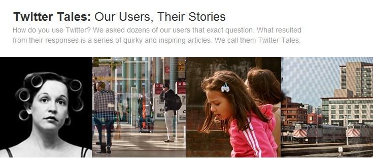 Nossos usuários, suas histórias