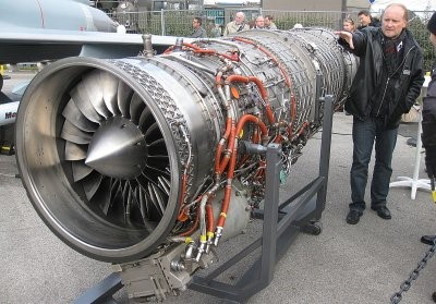A turbina usada no Bloodhound SSC