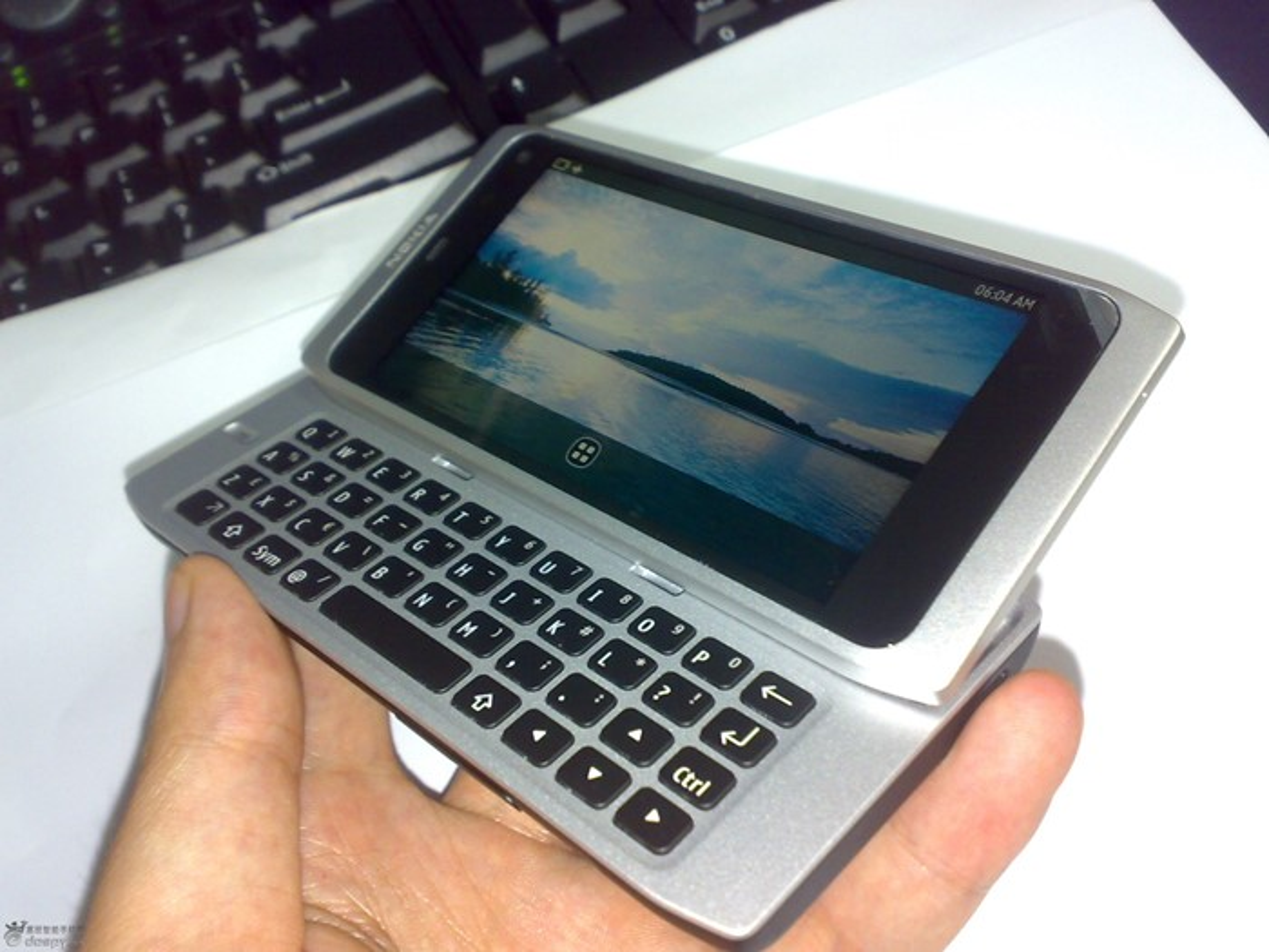 Protótipo no Nokia N9