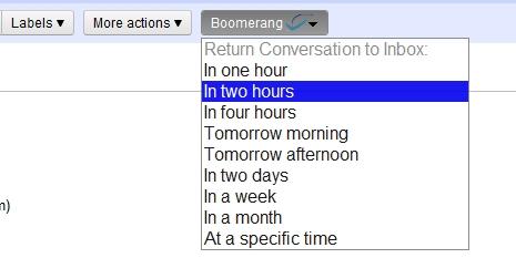 Programe horário também para receber uma mensagem.