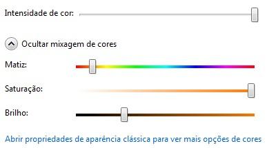 Modifique o esquema de cor das janelas do Windows