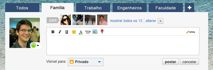 Novo recurso do Orkut