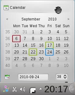 O Plasma agora destaca os feriados no calendário