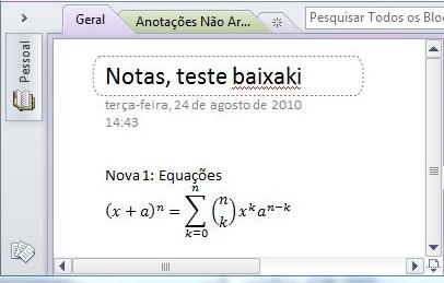 Equações complexas