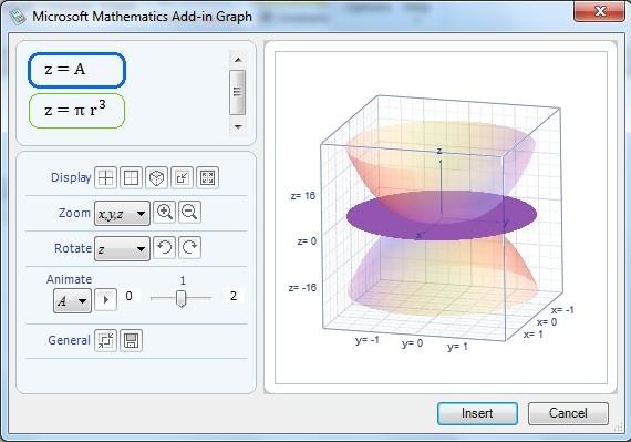 Gráfico em 3D